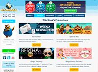 Cyberbingo Homepage