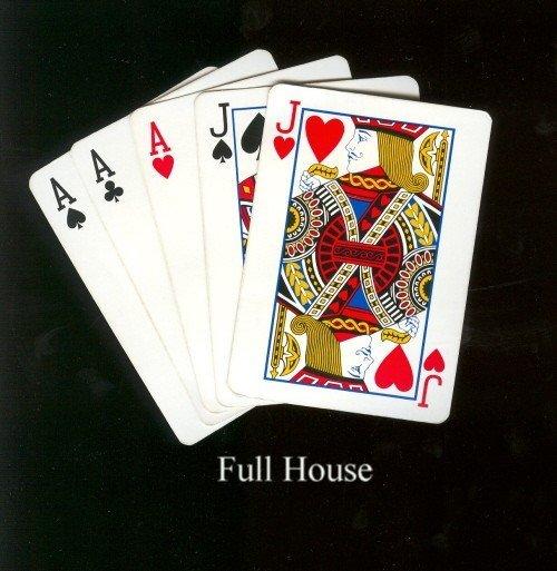 Poker hands flush full house