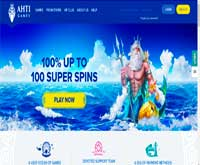 ahti casino bonus screenshot