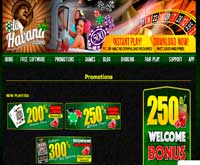 old havana casino promotions screenshot