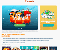 Cashmio Homepage
