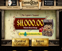 Captain Jack Casino Website