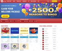 Bingo Canada Homepage
