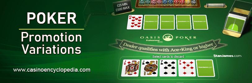 Poker Promotion Variations