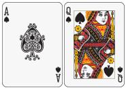 Ace Queen Suited