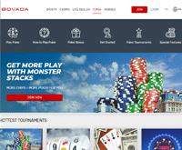 Bovada Poker Homepage