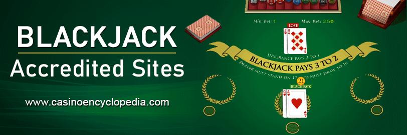 Accredited Blackjack sites