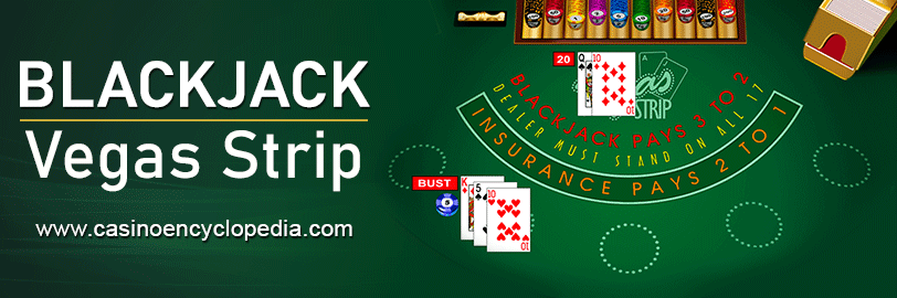 Vegas Strip Blackjack header