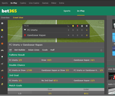 Bet365 Sports Events