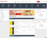 Bovada Sports Homepage