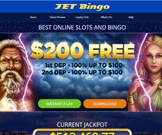 Jet Bingo Free 30 No Deposit Bonus Code