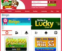Canadian Dollar Bingo Games