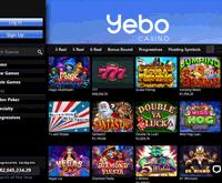 Yebo Casino Lobby