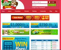 Canadian Dollar Bingo homepage