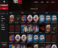 red dog casino games lobby