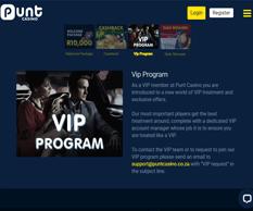 Punt Casino VIP