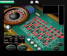 Uptown Pokies Casino Roulette game