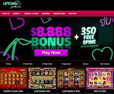 Uptown Pokies Casino Page