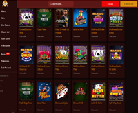 thebes casino video poker games