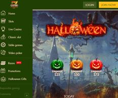 7 reels casino Halloween