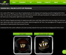 Raging Bull Slots VIP