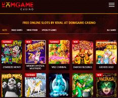 DomGame Casino Lobby