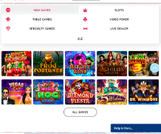 Free Spin Casino Homepage
