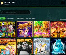 Irish Luck Casino Lobby