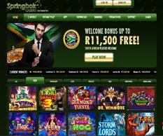 springbook casino home page