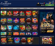 Exclusive Casino Lobby