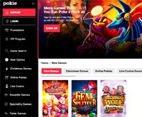 Pokie Place Casino Homepage