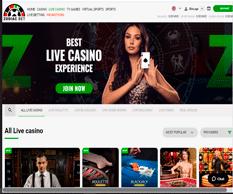 ZodiacBet Live Casino