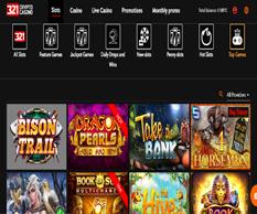 321 crypto casino games lobby
