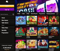 Mega7s Casino Lobby