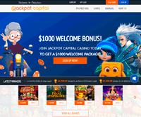 Jackpot Capital Homepage