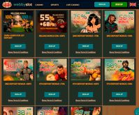 Webby Slot Casino Bonuses