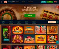 Webby Slot Casino Homepage